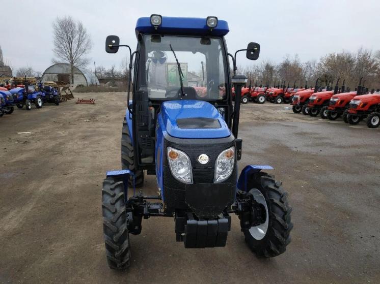Экспортный б/у трактор 2007 года выпуска Jinma 404 40 л/с + плуг