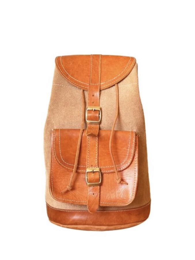 Рюкзак сумка, шкіра, ручна робота Лондон