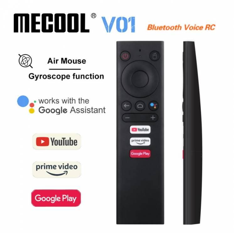Air Mouse MECOOL V01 аэромышь с гироскопом и голосовым поиском