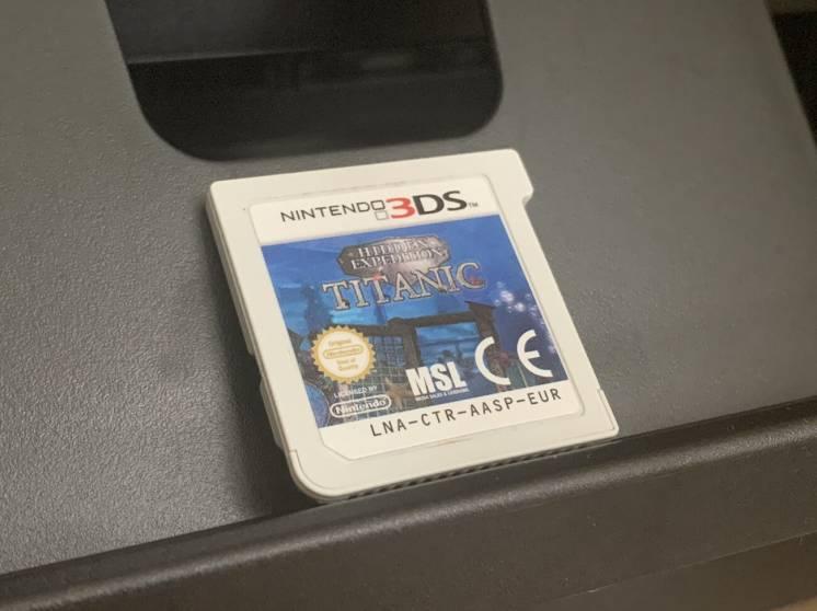 Nintendo 3DS Hidden Expedition TITANIC