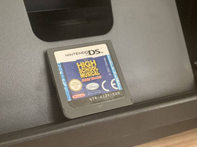Nintendo DS High school musical