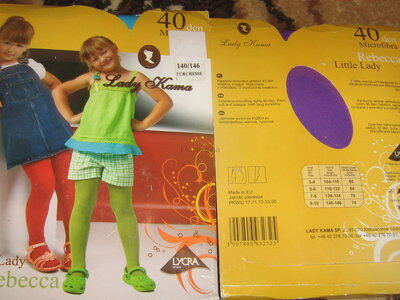 цветные колготки для девочек 40 ден