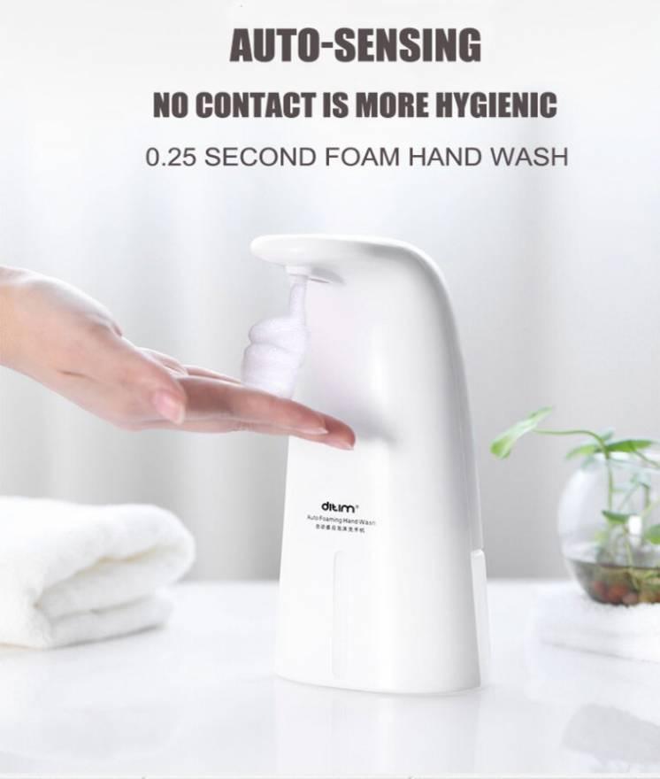 Диспенсер для мыла сенсорный , автоматический дозатор мыла пена
