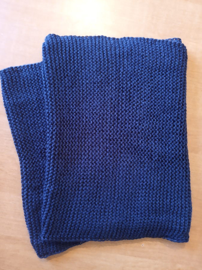 Снуд (шарф хомут) в два обхвата.