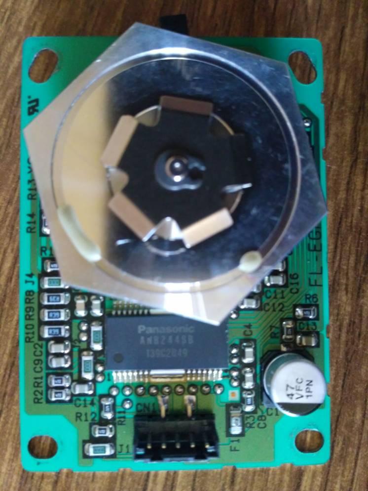 Двигатель полигонального зеркала Ricoh 1022 (AX06 0181)