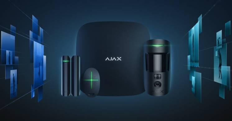 Сигнализация Ajax StarterKit Cam с установкой