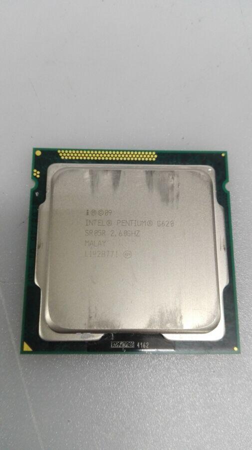 Процессор Pentium Dual-Core G620 2.6GHz/3MB/5GT s1155