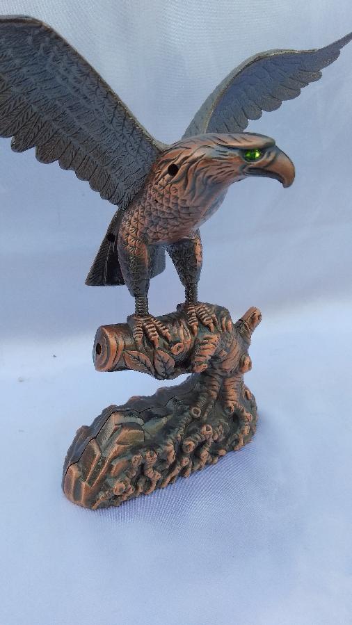 Сувенир зажигалка Орел на ветке