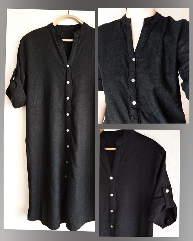 Льяные рубашки, платье -рубашки. Большие размеры рубашка