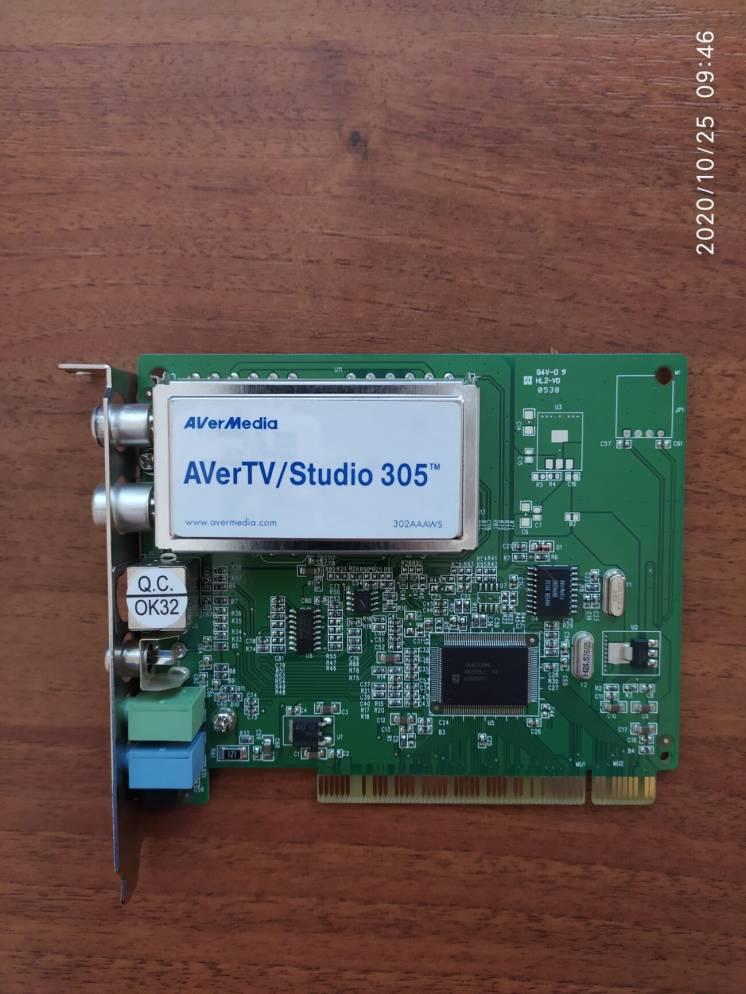 Продам ТВ-тюнер AVerTV/ Studio 305