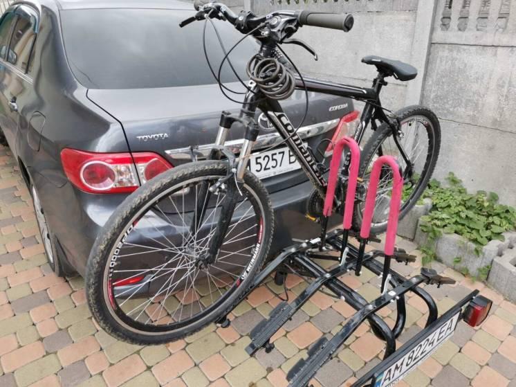 Прокат, аренда велокрепления, велобагажника на 3 велосипеда.