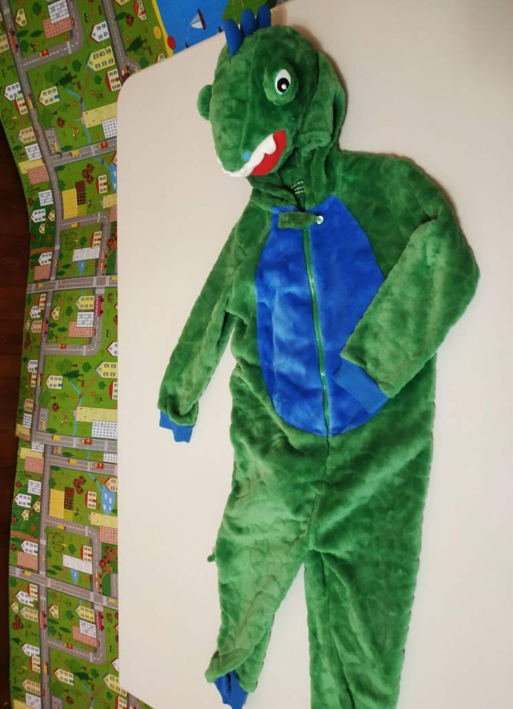 Новогодний карнавальный костюм динозавра Primark на 4-5 лет