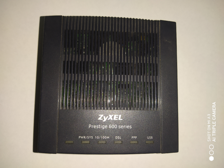 Маршрутизатор ZyXEL P-600 ADSL2