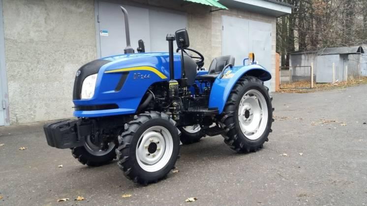 Экспортный б/у мини трактор 2007 года выпуска DongFeng 244 24 л/с