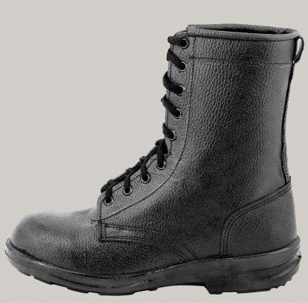 Ботинки кожаные утепленные с высокими берцами Буран