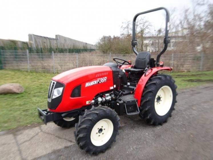 Экспортный б/у мини трактор 2007 года выпуска Branson F36R 35 л/с