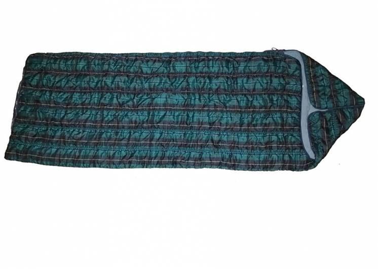 Спальный мешок одеяло с капюшоном на рост до 167 см.