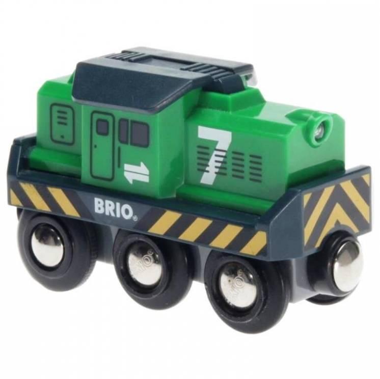 Деревянная железная дорога Brio (Брио) 33214 Грузовой локомотив