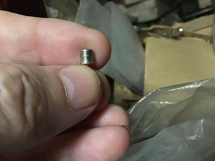 Транзистор полевой КП103А;Д;К, позолота