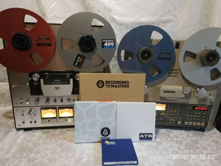 Запись на магнитную ленту и MD диски с винила