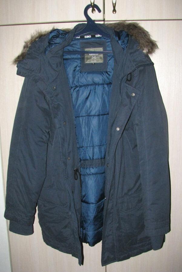 Куртка мужская зимняя длинная Mr520 р.50-52