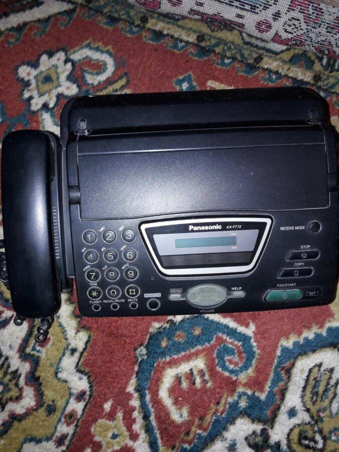 Продам телефон-факс Panasonik KX-FT72RU
