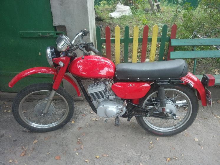 Мотоцикл Минск с лк