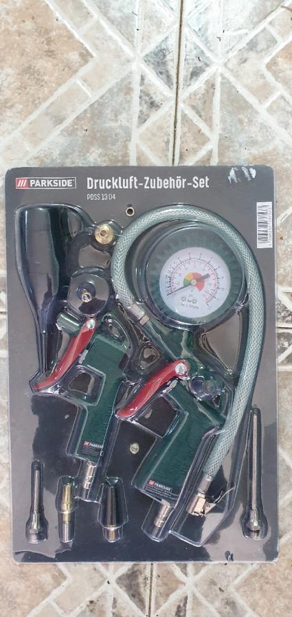 Набор пневмо инструмента Parkside производство Германия