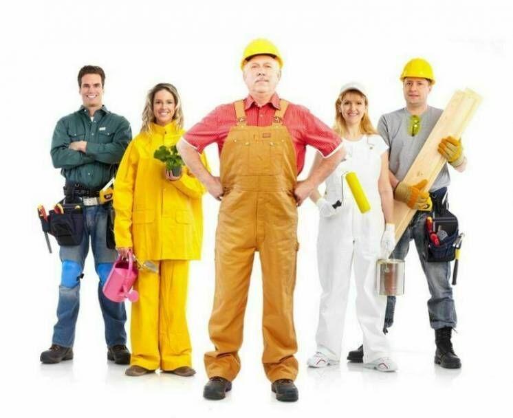 Все виды спецодежды, рабочие костюми, куртки, утепленные костюмы
