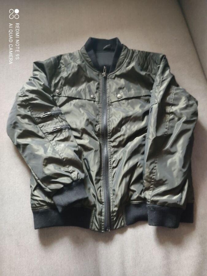 Мужской бомбер куртка демисезонная США, подростку, новый, размер 14-16