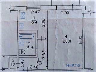 Продам 1 к. квартиру на Салтовке 602 м-н, ул. Руслана Плоходько.