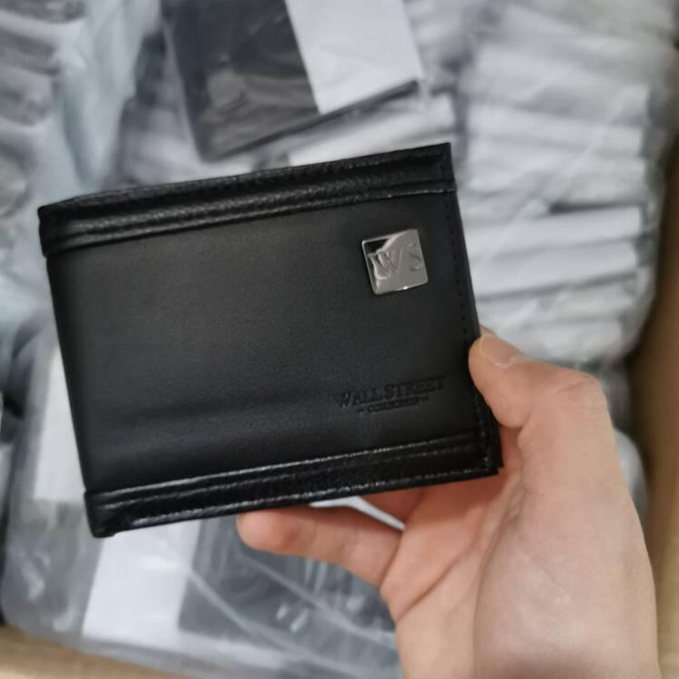 Мужской кошелек с визитницей WALL STREET