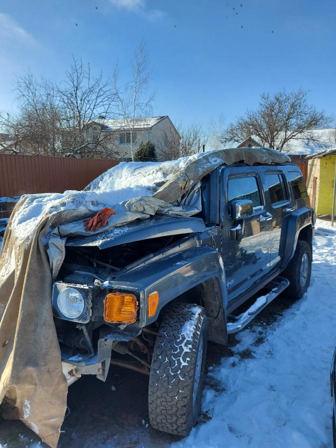 Hummer H3 после дтп