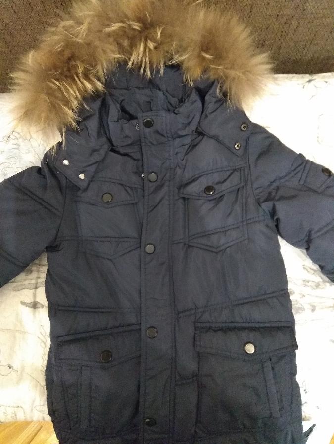 Куртка зимова для хлопчика ріст 140 см 8 - 10 років розмір 44 - 46