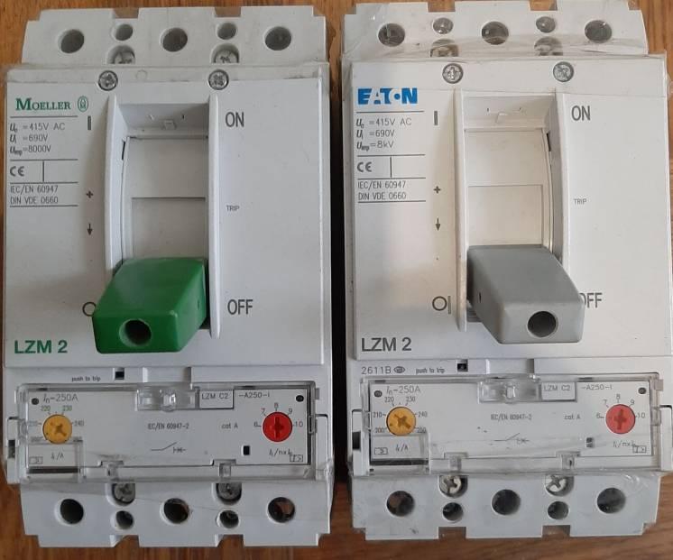 Продам силовий автомат Eaton LZMC2-A250-I.