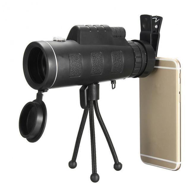 Монокуляр с треногой и клипсой Panda Vision 40×60