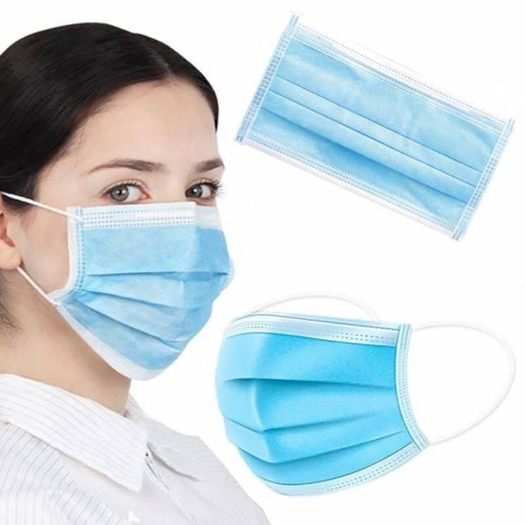 Защитная маска фабричная