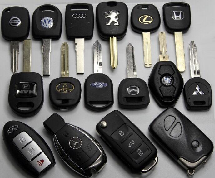 Изготовление ключей для авто(чип ключ)