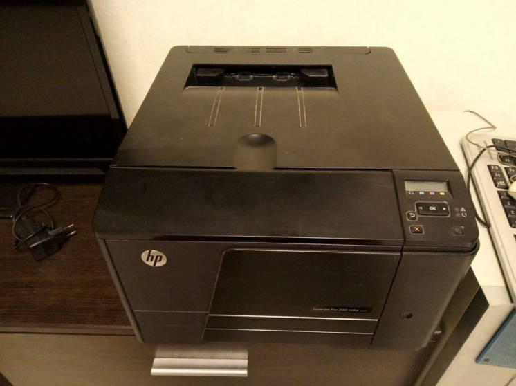 Принтер лазерный цветной HP LaserJet Pro 200 Color M251n Lan Сетевой