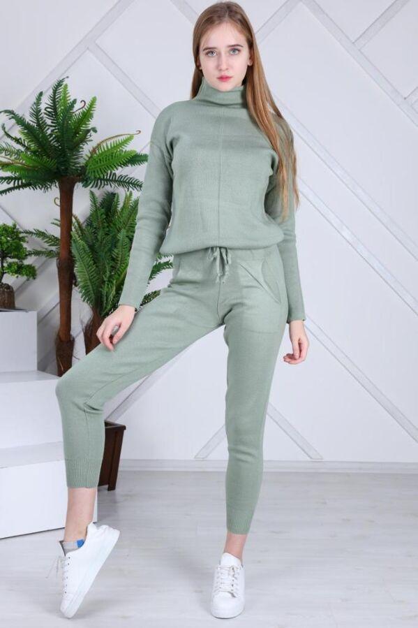 Женский теплый вязанный костюм Милена ХИТ 2021 года Турция фабрика