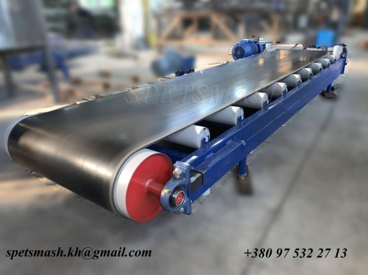 конвейер ленточный для штучных грузов