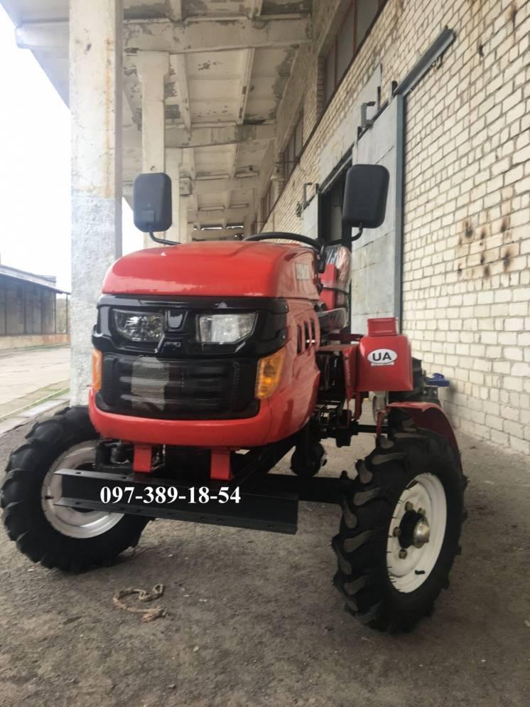 Трактор Лідер 161 люкс фреза+плуг+Міні трактор,Лидер,Мототрактор