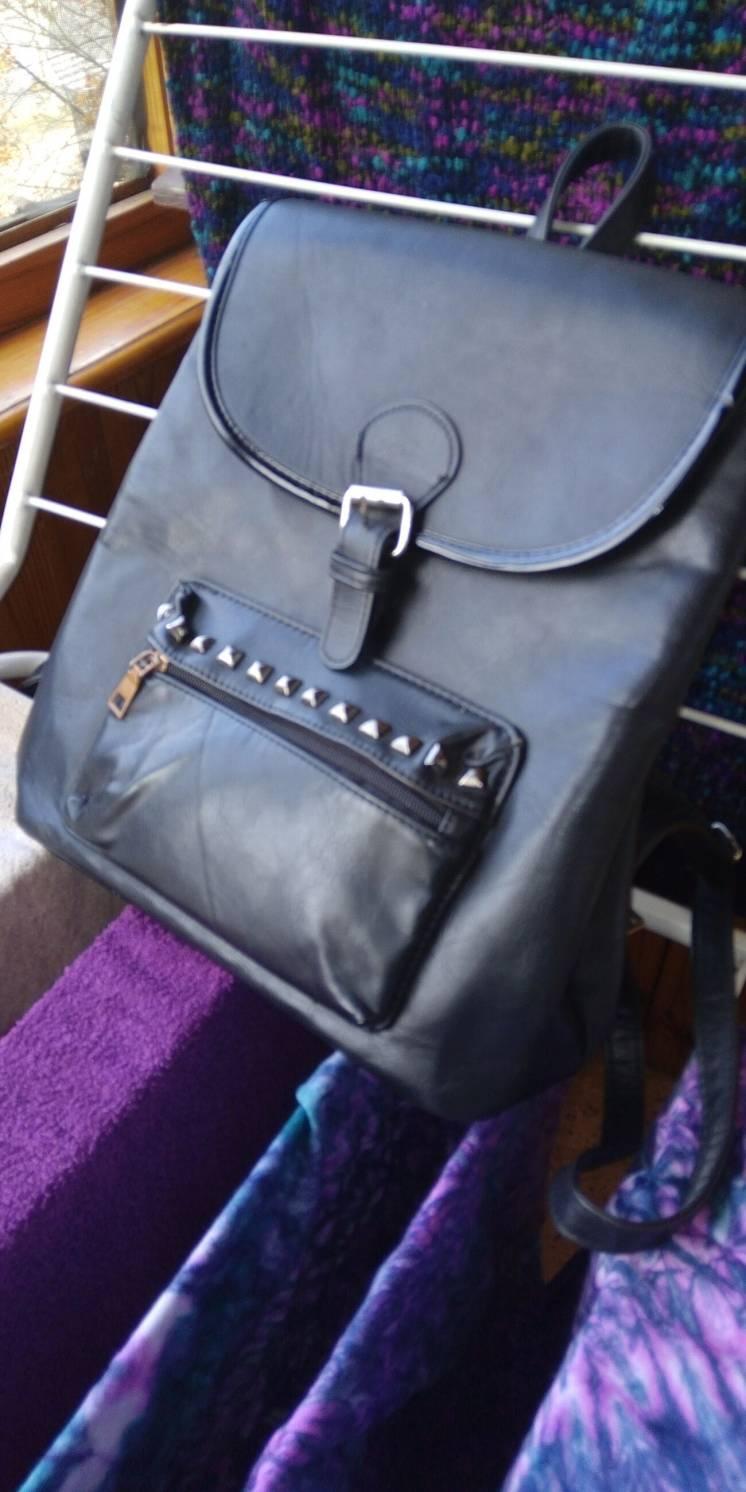 Рюкзак кожаный как новый