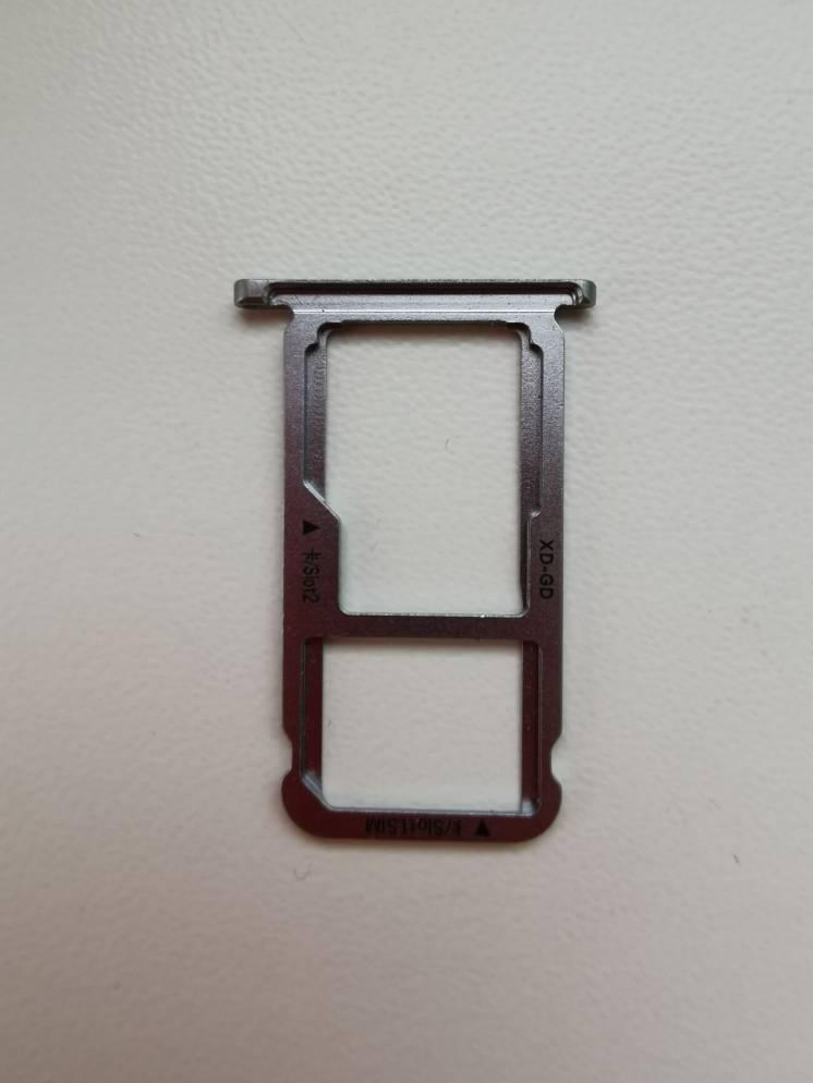 Сим лоток, sim tray, лоток для карты памяти для Huawei GR5 2017 BLL-L2