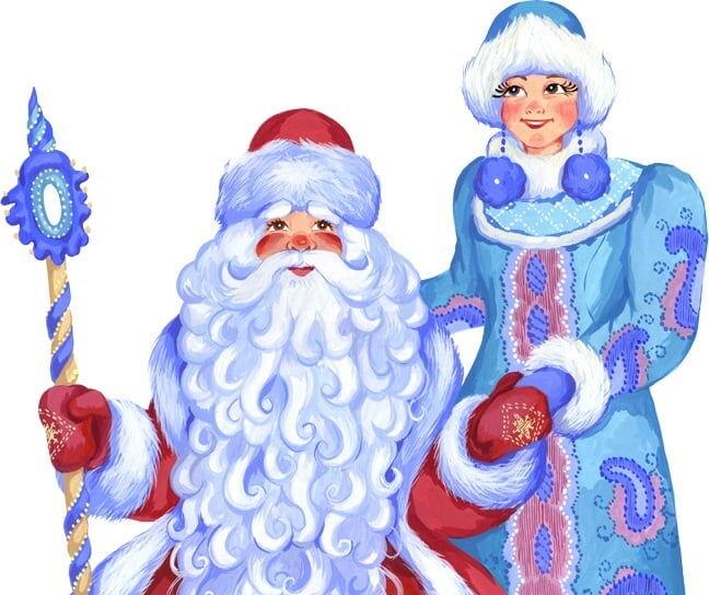 Заказ Деда Мороза и Cнегурочки для детей на дом Троещина