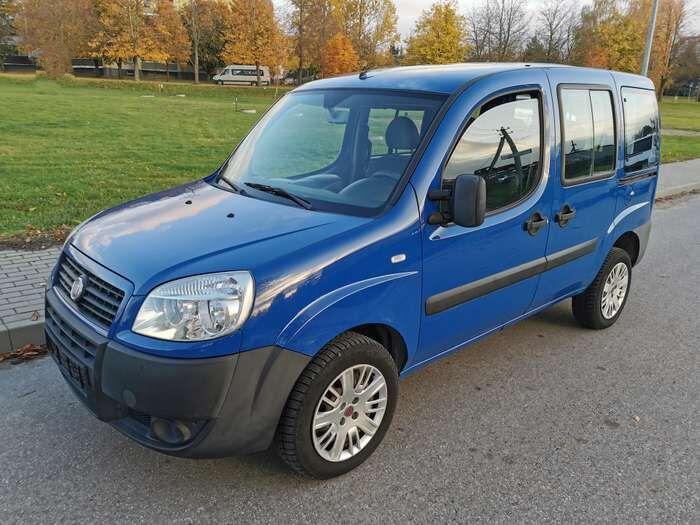 Fiat Doblo  1.9  Минивэн