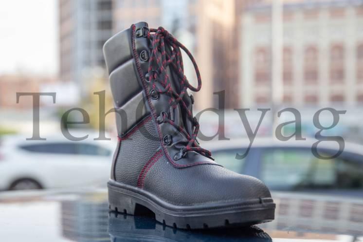 Утепленные рабочие ботинки берцы спецобувь спуцвзуття BRWINTER