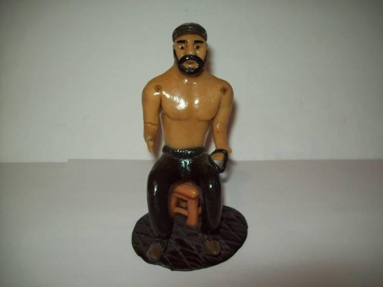 Фигурка статуэтка времён СССР ручная работа