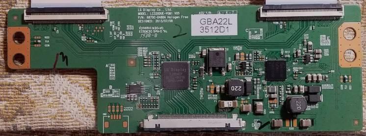 Продам t-con  LC320DUE-VGM1 V05  p/n 6870C-0488A от Lg 32LB580V-ZB