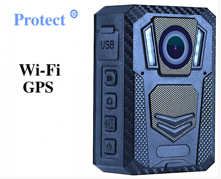 Полицейская камера Protect R-02A, 2021 г. Онлайн Wi-Fi (STA,AP),GPS -
